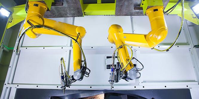 taglio laser robot