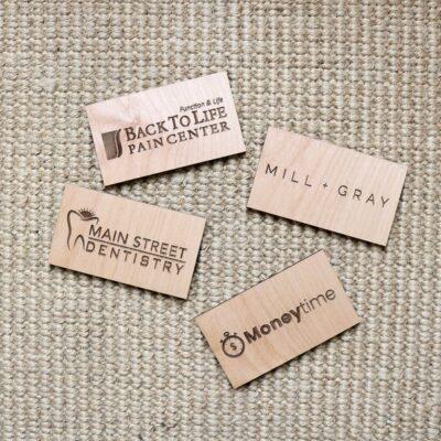 magneti incisi legno