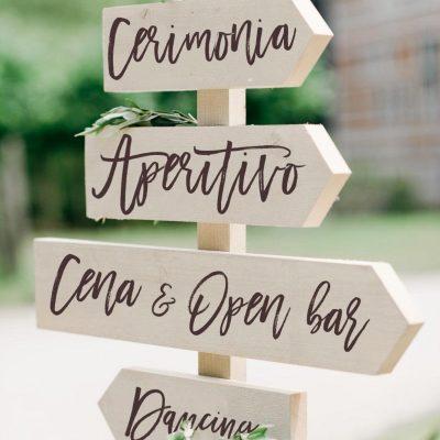 indicazioni stradali per matrimonio