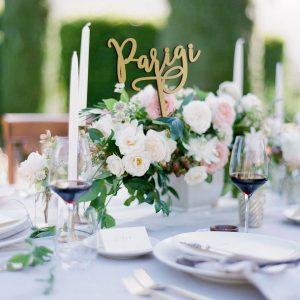 segnaposto matrimonio elegante