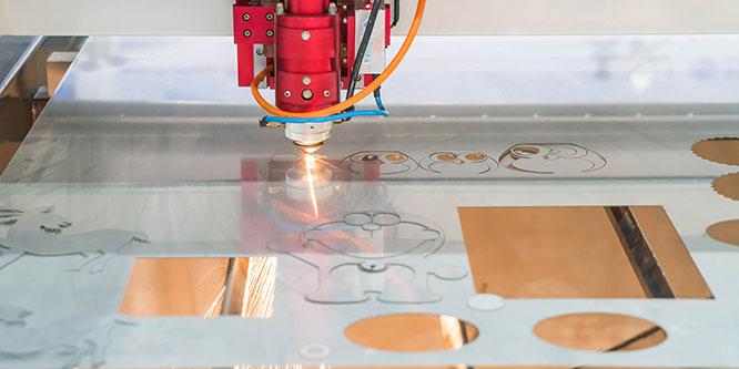 applicazioni taglio laser