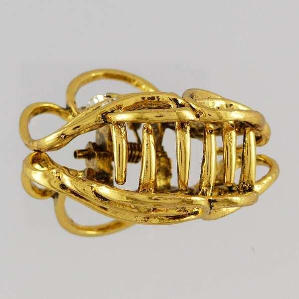Pince crabe moyenne dorée Anka