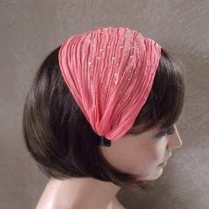 Serre tête tissu Foulard
