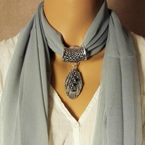 Bijou pour foulard Holly