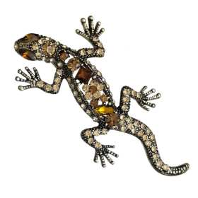 broche-lezard-strass-en-cristal-orange
