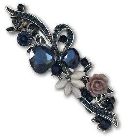 grande-barrette-à-cheveux-argentée-lily-bleu