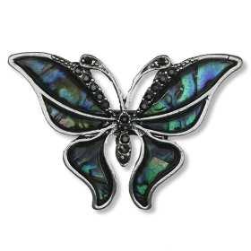 broche-grand-papillons-strass-en-cristal-emeraude