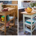 Refinishing An Ikea Kitchen Island Eclectic Spark