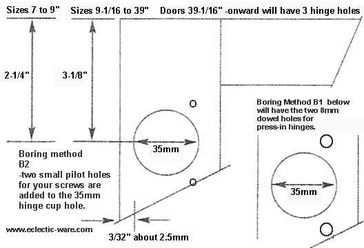 How To Install Concealed Cabinet Door Hinges | memsaheb.net