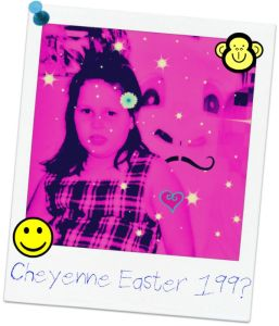 Dortch Easter Eclectic Evelyn Bunny Polaroid