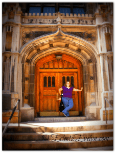 #ThursdayDoors Door at Union Theological Seminary in New York EclecticEvelyn.com