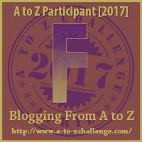 F #AtoZChallenge EclecticEvelyn.com