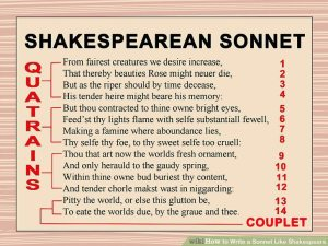 http://www.wikihow.com/Write-a-Sonnet-Like-Shakespeare