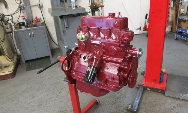 Engine back together