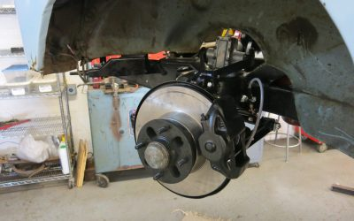 Front suspension and brake renewal