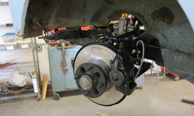 Front suspension and brake renewal