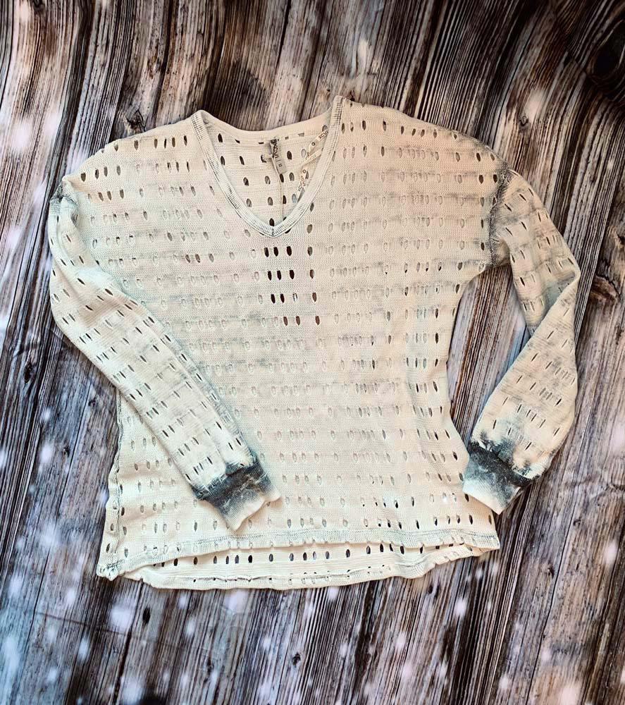 Grey XCVI Sweater