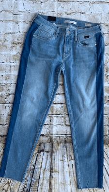 Mavi Ada Mid Indigo Blocking Side Jeans