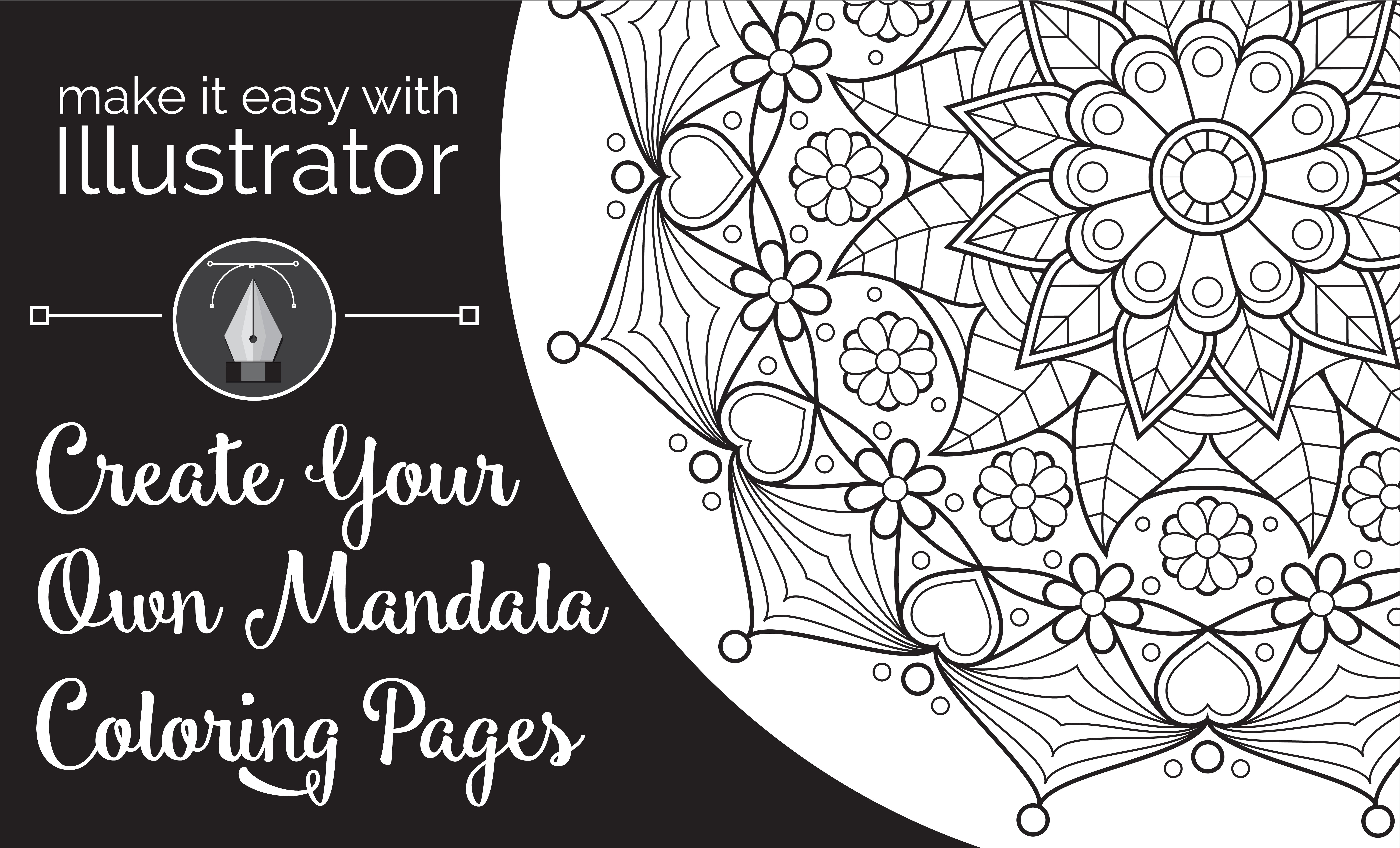 Make it Easy with Illustrator: Create Your Own Mandala ...