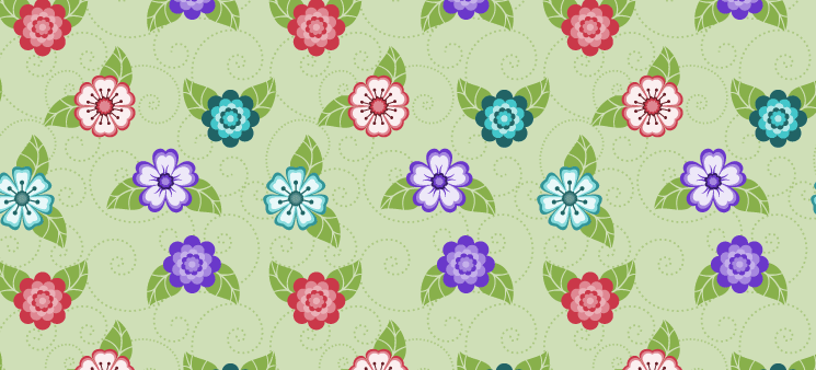 Make it Easy with Illustrator: Create Your Own Seamless Flower