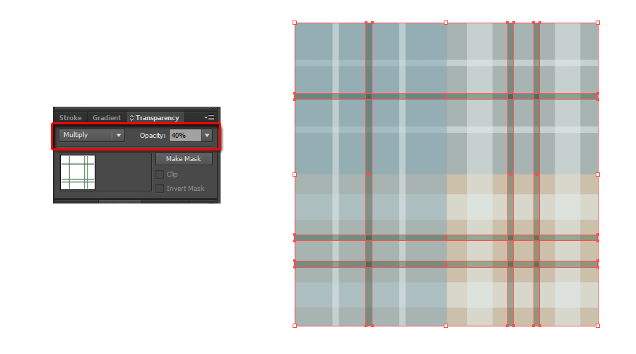 How to Make a Plaid Pattern Step 10