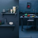 Color trend | Moody blue walls