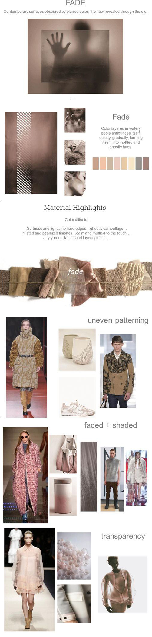 Pantone Color Trends Autumn/Winter 2016/17
