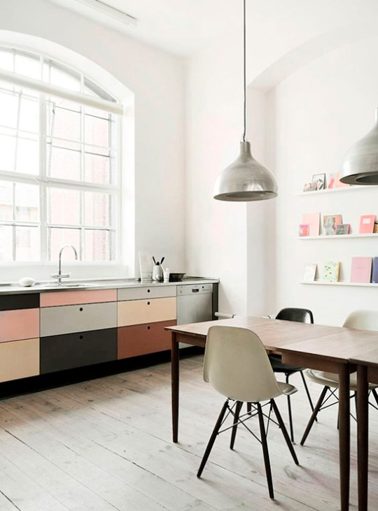 Eclectic trends 5 top kitchen design trends 2016 for Popular kitchen styles