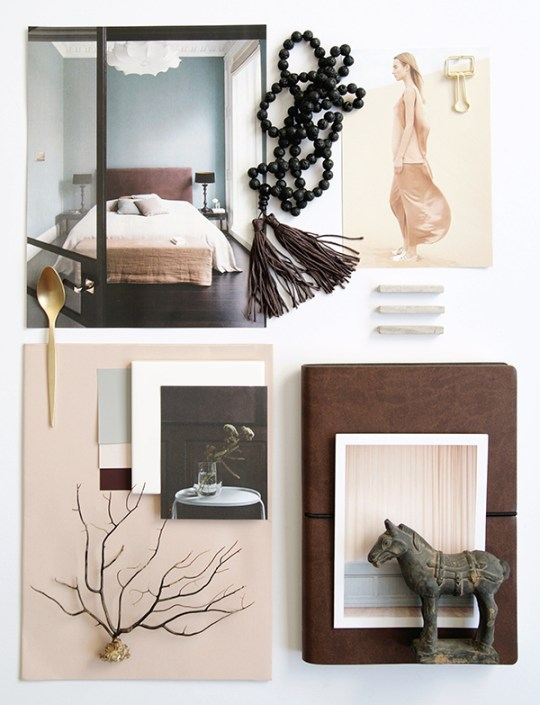 A very well structured Mood Board by Hege Morris-Eclectic Trends