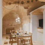 Former caves are converted into contemporary interiors in Italy: La Dimora di Metello