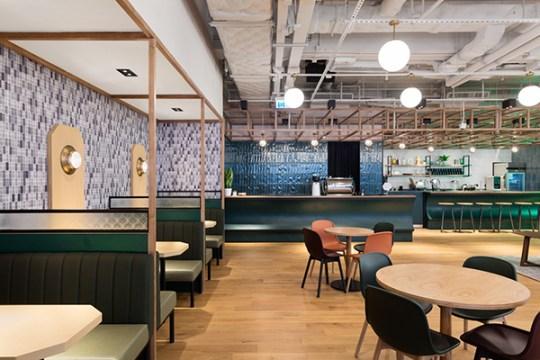 We Work- A fancy coworking space in Hong Kong via Eclectic Trends