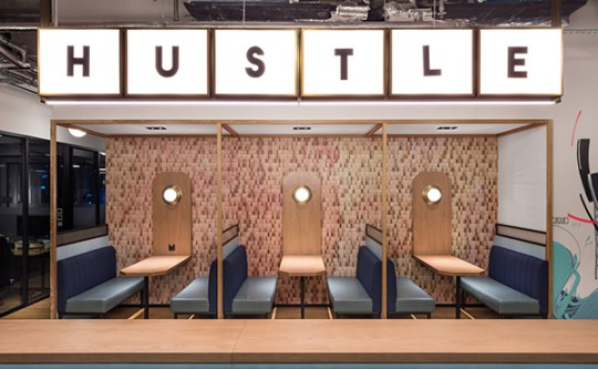 We Work A fancy coworking space in Hong Kong via Eclectic Trends