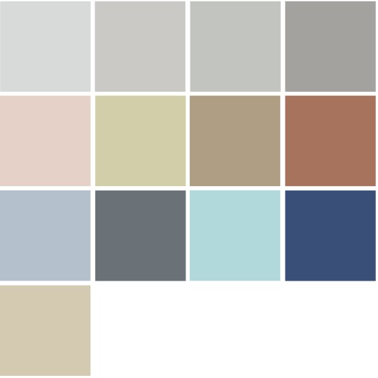 4 Color Trends 2018 by Dulux Essential Palette via Eclectic-Trends