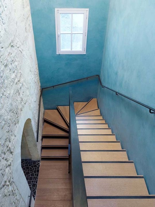 Former monastery turned boutique hotel Hôtel du Cloître by India Mahdavi