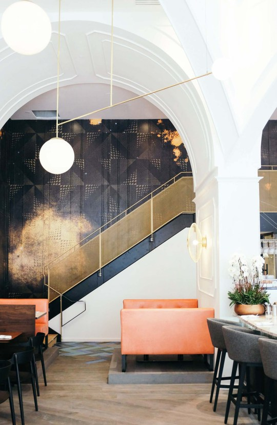 Eclectic Trends|Art Deco vibes at Oretta in Toronto