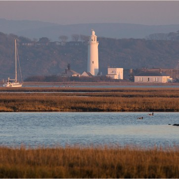 Hurst Spit, Hurst Lighthouse, Keyhaven lagoon, coastal photography, sea scape