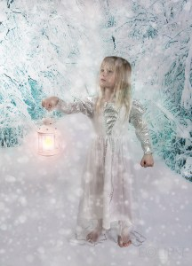 Lost in snow, Snow Princess, Snow Queen, Snow, Lamp in the snow, Snowflakes, snow back drop photography