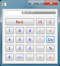 This widget proposes a calculator, that can be used in a combo.