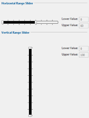 This widget is an enhanced slider that handle a range of values