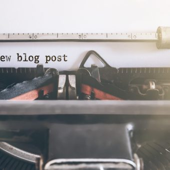 back to blogging basics