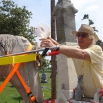 Restoration to Wooldridge monuments, Mayfield, KY