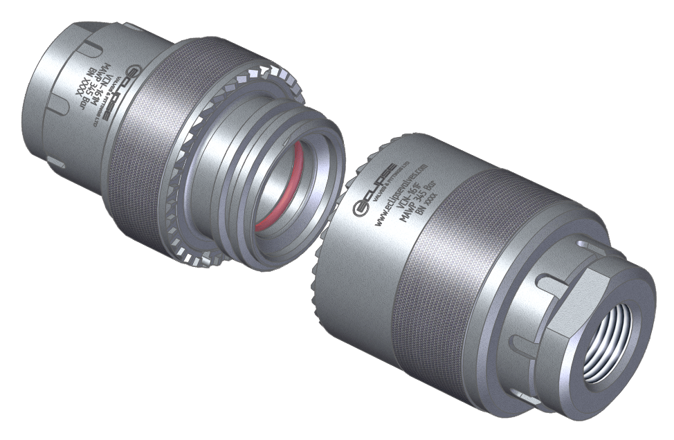 Eclipse valves fittings ltd products hose coupling high flow hose coupling designed for high pressure gas and oil applications where maximum flow is a priority ideally suited for the filling and decanting publicscrutiny Choice Image