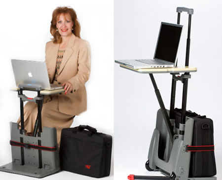 Tecnología y gadgets, ahora tu valija se convierte en un escritorio