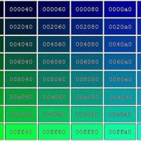 Paleta de colores y codigos