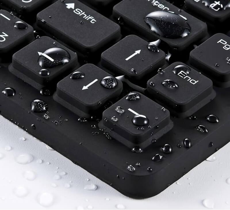 Sanwa SKB-BS2BK teclado resistente al agua y al polvo | Eclixxo.com