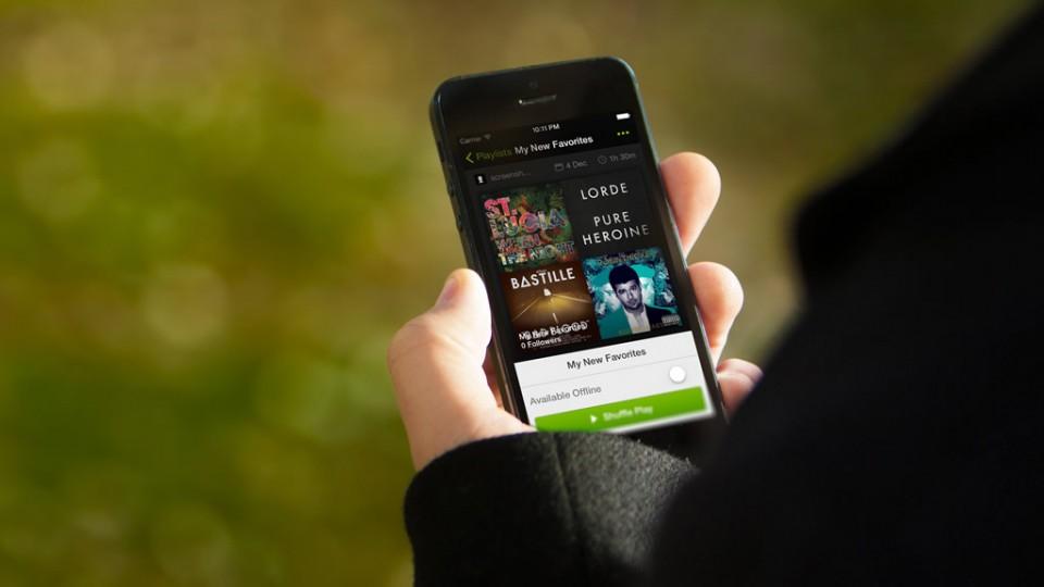 Cuánto gasta Spotify en MB