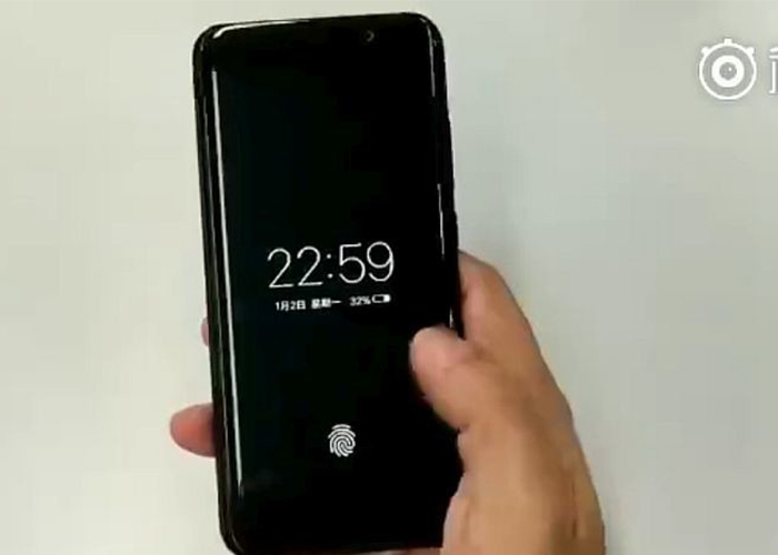Vivo presentará un teléfono con sensor digital invisible