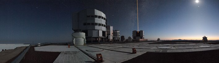 13 Early Morning on Paranal (34,5 x 120 cm) €50