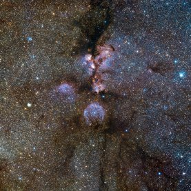 20 VISTA's infrared view of the Cat's Paw Nebula (120 x 120 cm) €288