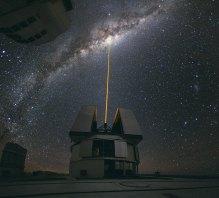 35 A Laser Beam Towards the Milky Way's Centre (109 x 120 cm) €261,50